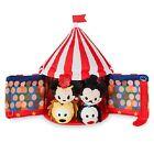 US Disney Store Circus Tent Set with 4 Micro Tsum Tsum Mickey Minnie Goofy Pluto