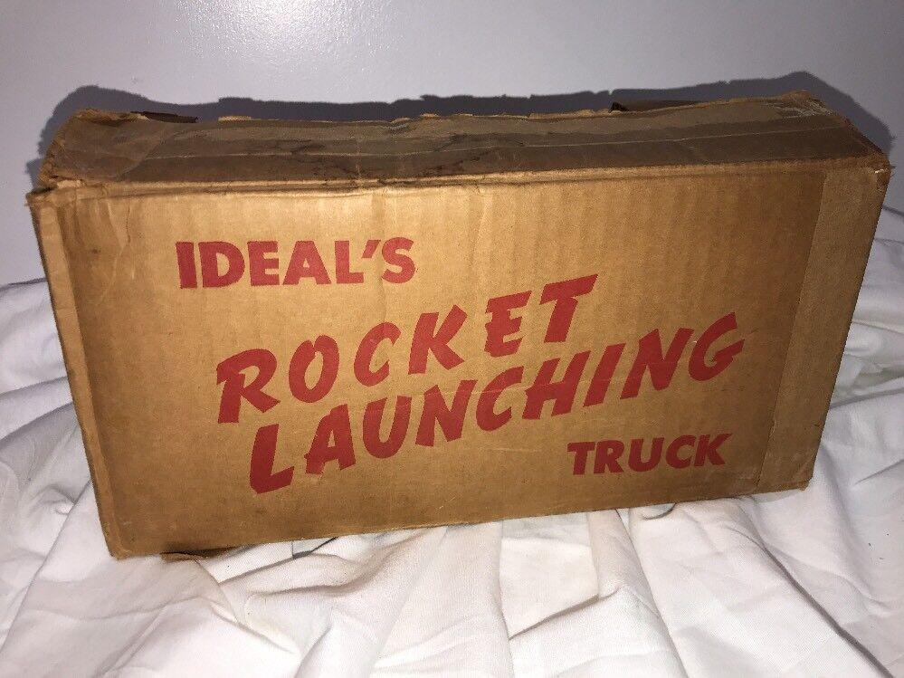 Nice Ideal Cohete Lanzamiento camión con caja original (dakotapaul) FUNCIONA