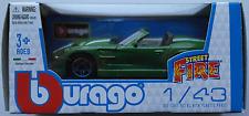 Bburago - Shelby Series One grün 1:43 Neu/OVP Modellauto