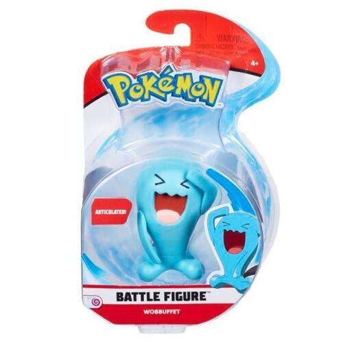 POKEMON Battle Action Figure-WOBBUFFET-Nuovo di Zecca