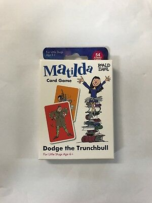 Roald Dahl 7045 Memory Card Game Multicolour Dodge The Trunchball