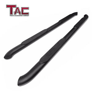 """For 2005-2021 Toyota Tacoma Double Cab 4"""" Texture Side Step Rails Running Boards"""
