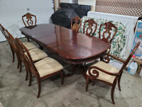 Table 8 Chairs Buy Or Sell Dining Table Sets In Edmonton Kijiji Classifieds