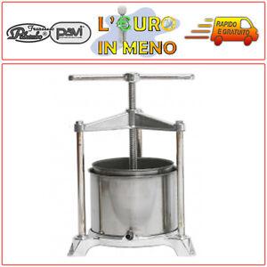 TORCHIETTO-PREMITUTTO-5-LITRI-IN-ACCIAIO-ALLUMINIO-00132-PALUMBO-PAVI-TORCHIO