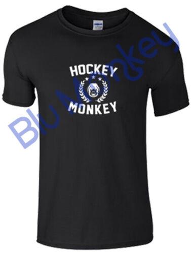 Childrens Ice Hockey /'Hockey Monkey/' T-Shirt