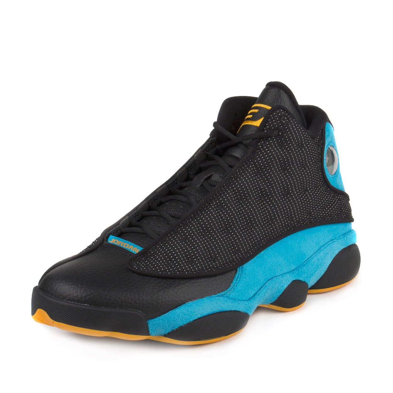Nike Mens Air Jordan 13 Retro CP PE CP3 Black/Sunstone-Orion Blue 823902-015