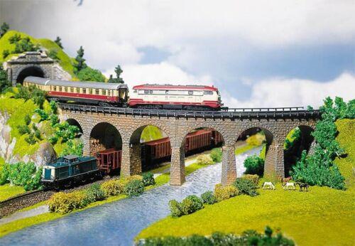 FALLER 222586 2 Viaduktbrücken gebogen Bausatz N