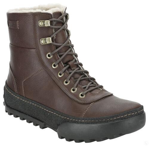 Verdadero 8 Uk Cuero Frost cálido Mens marrón 8 Clarks 5 Forro Reel RqzHU8