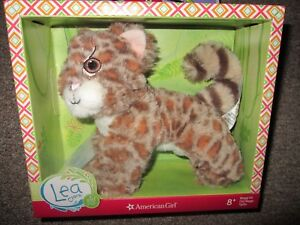 """American Girl Lea Margay Cat Plush Pet for 18/"""" Doll NEW IN BOX"""