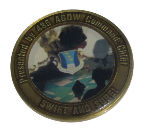 435th Air Ground Operations Wing Challenge Coin
