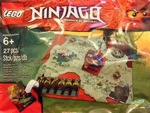 Lego Ninjago Masters of Spinjitzu Pack accessoires 5002920 polybag Entièrement neuf sous emballage