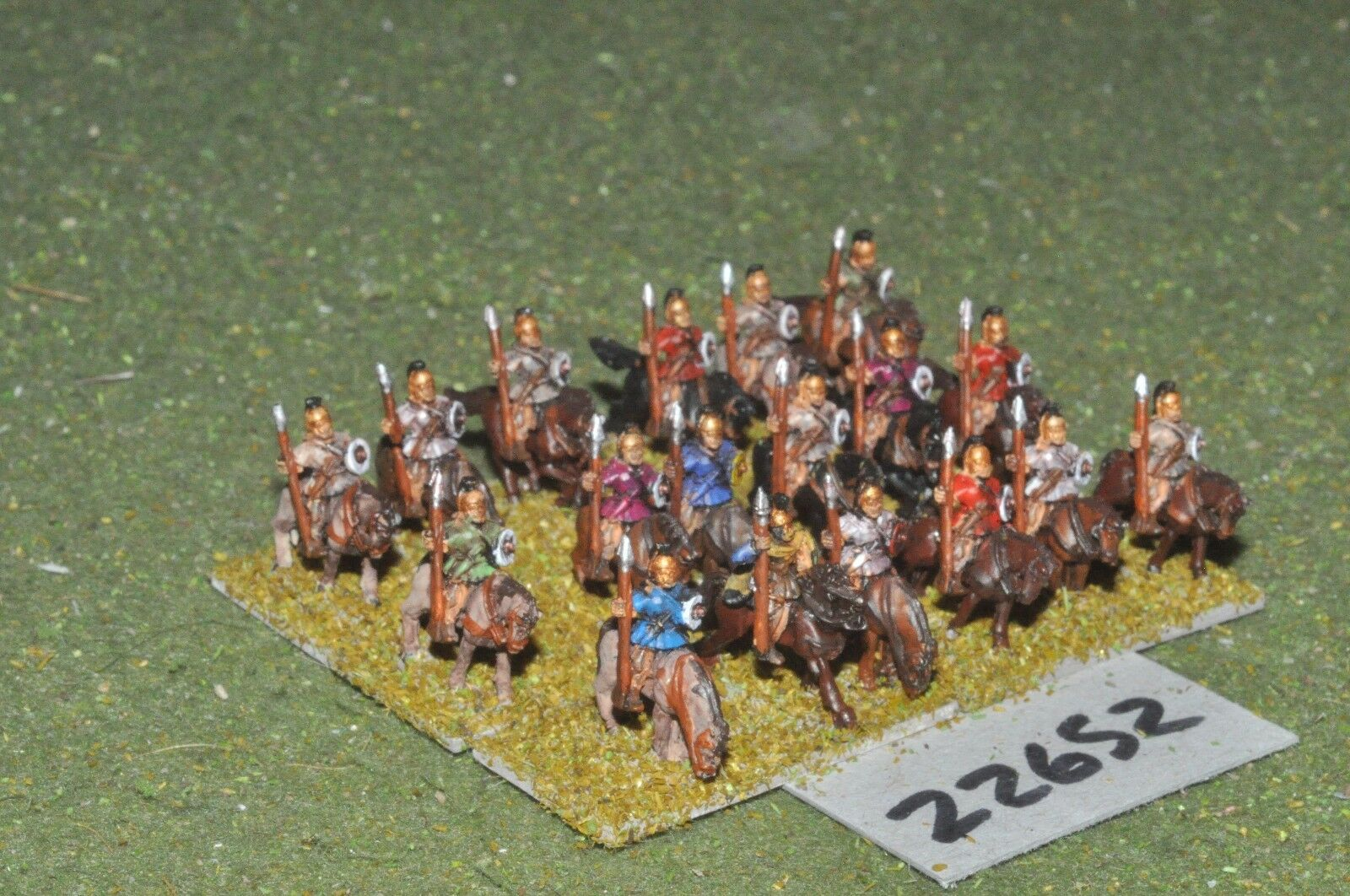 10mm Roman Era   spanish - heavy 18 figures - cav (22652)
