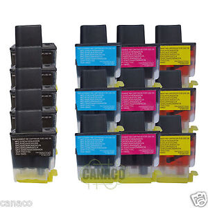 14-Pack-LC41-Compatible-ink-cartridge-for-Brother-MFC-210C-MFC-420CN-MFC-620CN