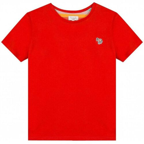 RRP £36 Zebra Brand New w//Labels 5 Year Paul Smith Junior Red Tete T-Shirt