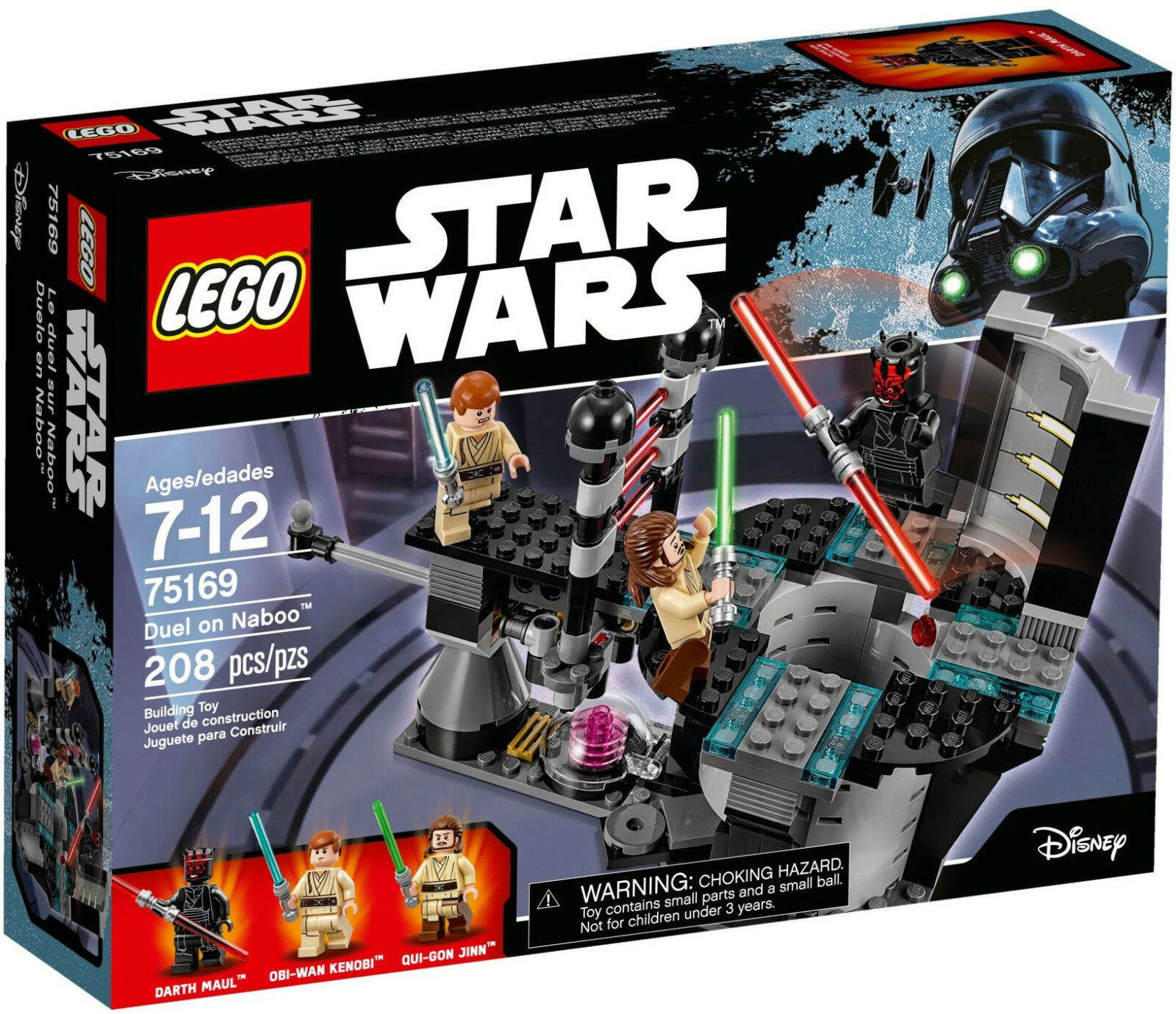 LEGO star wars - 75169 duel on Naboo avec Darth Maul et qui-Gon Lightsaber-NEUF & OVP
