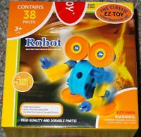 Robot Ez-toy Classic Building Construction Toy 5 In 1 Open Ended