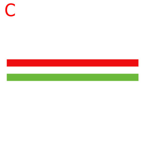 Vinyl Decal Germany Italy French Flag Roof Hood Three-color Stripe Car Sticker