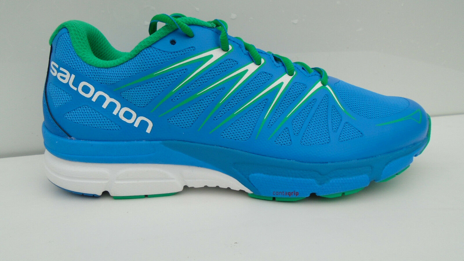 Salomon X-Scream Foil Blau Herren Trail Laufschuhe Running Schuhe Wanderschuhe
