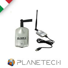 ANTENNA WI FI AMPLIFICATORE SEGNALE NOTEBOOK WI-FI USB WIRELESS WIFI PC GS-27USB