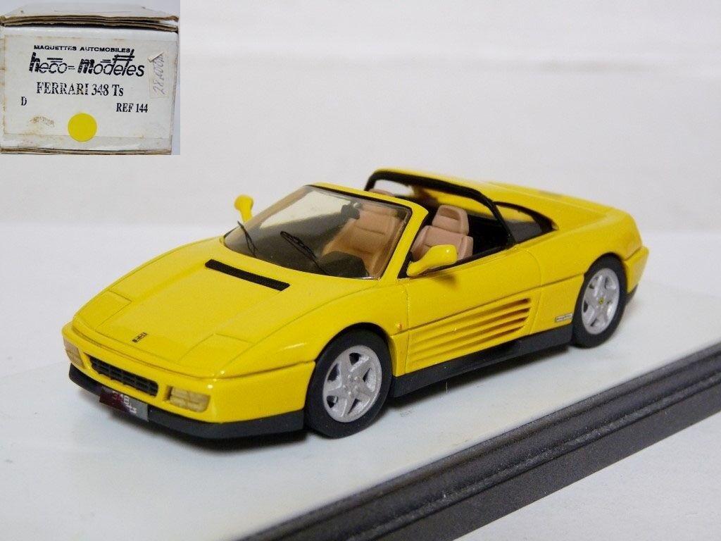 diseñador en linea Heco 144 144 144 1 43 1989 Ferrari 348 TS Coche Modelo de Resina Hecho a Mano  estar en gran demanda