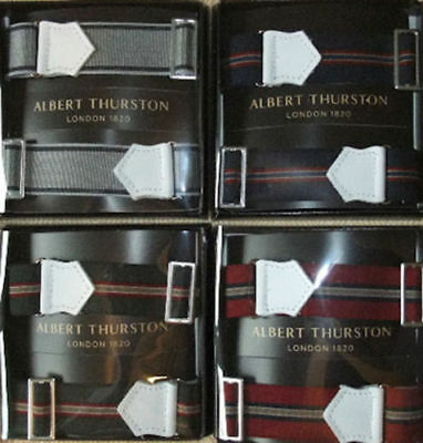 Men's Accessories Albert Thurston Verstellbarer Elastischer Armbinden Für Ihre Hemd Ärmel Clearance Price