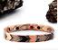 Authentic-Pur-life-Negative-Ion-Bracelet-ELEGANT-Copper-3-Tone-Shield-PURLIFE miniature 1