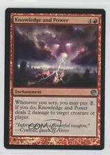 2014 Magic: The Gathering - Journey into Nyx #101 Knowledge and Power Card 0b5