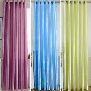 Window Screen Curtains Room Door Blackout Lining Curtain Ds