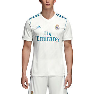 Adidas Men Soccer Jersey Real Madrid Home Replica Ronaldo Football ... 37b485642d902