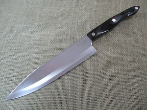 cutco petite chefs knife 1728 ke brown handle made in usa ebay. Black Bedroom Furniture Sets. Home Design Ideas