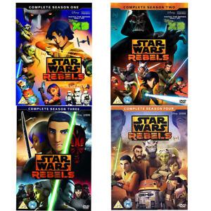 Details about Star Wars Rebels Season Series 1, 2, 3 & 4 DVD New & Sealed R4