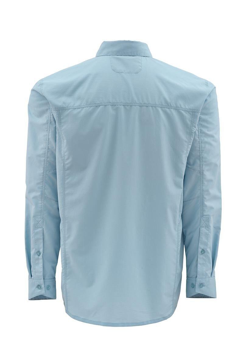 Simms ULTRALIGHT Long Long Long Sleeve Shirt  Slate Blau NEW  Closeout Größe 2XL 48cffd