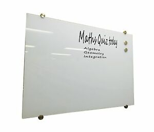 image is loading glass white board magnetic white 1200x900mm - Magnetic White Board