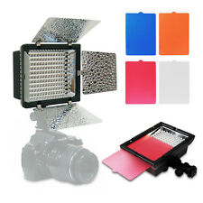 160 LED Video Light Barndoor for Canon Nikon Camera DV Camera Camcorder