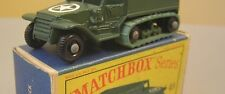 Matchbox #49A US Half Track GREEN rubber tracks  AUCTION FOR  2  TRACKS ONLY!!
