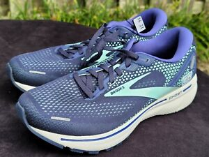 Brooks Ghost 14 Women's Athletic Cushioned Running Shoes Sz 10D Wide 1203561D446