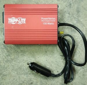 New Tripp Lite Pv150 Power Inverter 150 Watt Ultra-Compact 150 Watts dc to ac