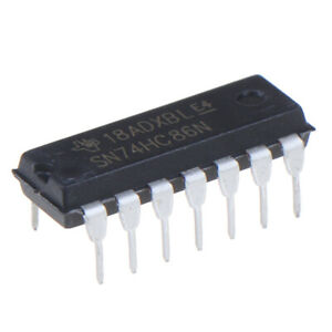 10PC-SN74HC86N-In-line-DIP-14-2-input-four-OR-gate-new-and-original-IC-Regul-ex