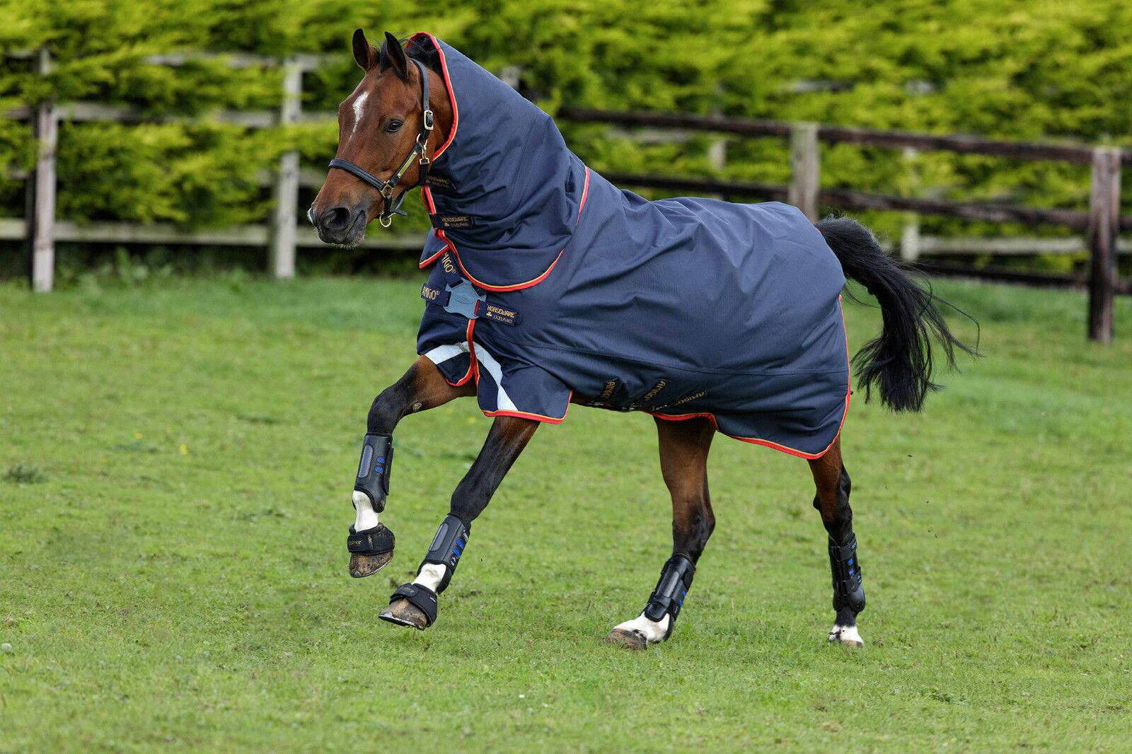 Horseware Amigo Bravo 12 Plus Disco 100 G con Copertura collo   Die Coperta