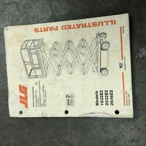 JLG 1932E2 2032E2 2646E2 PARTS MAINTENANCE MANUAL MAN LIFT   eBayeBay