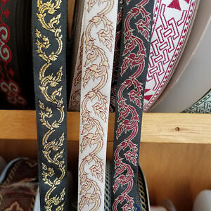 Celtic Vine Jacquard Fabric Trim 58 Inch Wide By The Yard Ebay