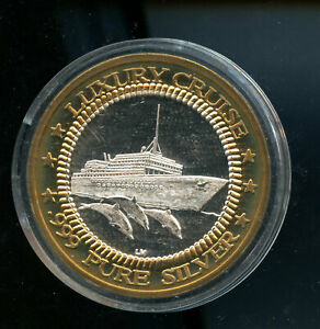 LUXURY-CRUISE-ISLAND-PARADISE-999-SILVER-MEDAL-CQ70