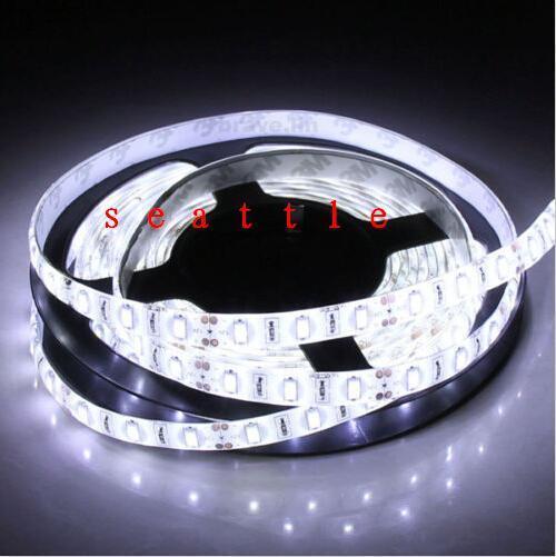 Hot Sale 5M 5630 SMD LED Strip Light White 300Leds 60led/m Non watewrproof 12V