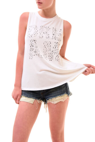 Women's Free Top Dream Tank Unique Size White Xs Bcf77 £52 Rrp Sleeveless People OqYqa5
