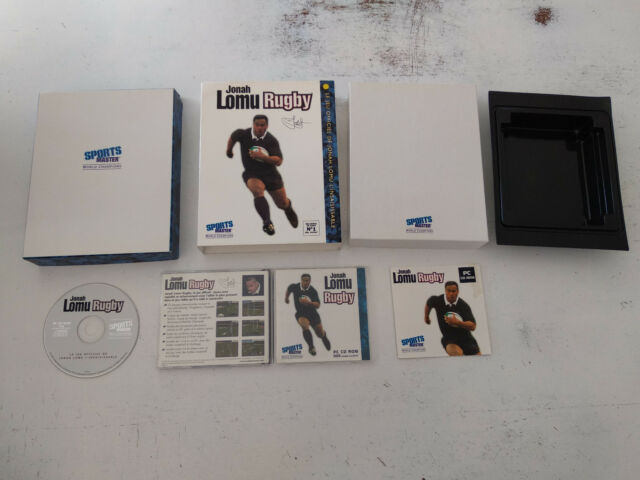 Jonah Lomu Rugby Sports Master PC FR big box carton