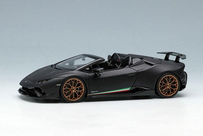 encuentra tu favorito aquí Eidolon 1 1 1 43 Lamborghini Huracan Temps Araña 2018 Matt Negro EM433D EMS  artículos novedosos
