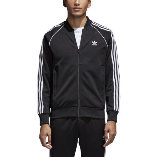 Adidas Originals Superstar Men/'s Track Jacket Black-White cw1256