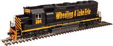 Atlas N Master EMD GP40 Low Nose Wheeling & Lake Erie W&LE #304 w/ DCC 40002783