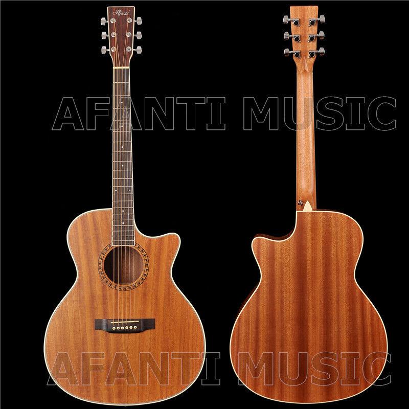Afanti Music 41 Zoll Solid Paulownia Top Akustikgitarre (AFA-901)