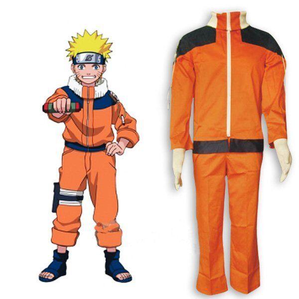 Costume cosplay Naruto Uzumaki Taglia S